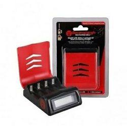 Berenstargh Mobil LCD Akku Battery charger micro USB punjač za Mignon 4xAA i Micro 4xAAA baterije (19926)
