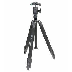 Bilora Black Magic I 146cm 4kg aluminijski stativ za fotoaparat tripod + ball head kuglasta glava (1130)