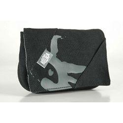 Bilora Cotton black crna pamučna torbica za kompaktne fotoaparate pouch case small bag for compact camera