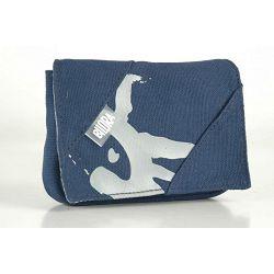 Bilora Cotton blue plava pamučna torbica za kompaktne fotoaparate pouch case small bag for compact camera