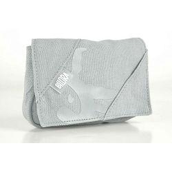 Bilora Cotton grey pamučna torbica za kompaktne fotoaparate pouch case small bag for compact camera