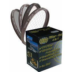 Bilora Filter set UV + CPL + ND4 + Star + etui kutija za filtere 52mm (7000-52)