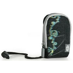 Bilora Jeans I black crna torbica za kompaktne fotoaparate pouch case small bag for compact camera