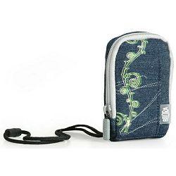 Bilora Jeans I blue plava torbica za kompaktne fotoaparate pouch case small bag for compact camera