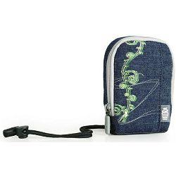 Bilora Jeans II blue plava torbica za kompaktne fotoaparate pouch case small bag for compact camera