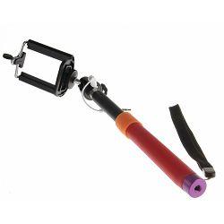 Bilora Selfie Pod II Red SelfiePod with cable štap monopod za mobitele i smartphone (SP-2R)