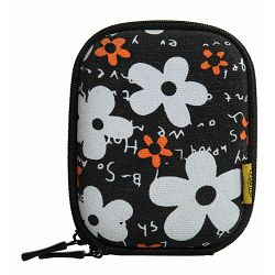 Bilora Shell Bag I flower black (360-40) torbica futrola za kompaktni fotoaparat