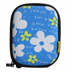 Bilora Shell Bag I flower blue (360-41) torbica futrola za kompaktni fotoaparat