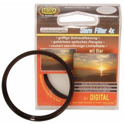 Bilora Special Effect Star 4 62mm filter za objektiv s zvijezdastim efektom svijetla (7020-62)