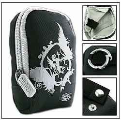 Bilora Style I black crna torbica za kompaktne fotoaparate pouch case small bag for compact camera