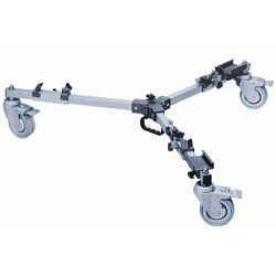 Bilora Video Super Pro Tripod Dolly for 939 Stativwagen rote za video stativ (2239)