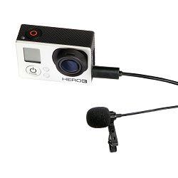 Boya BY-LM20 Lavalier microphone for GoPro Omni directional condenser kondenzatorski mikrofon
