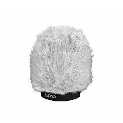 Boya BY-P100 Dead Cat Fluffy Windshield 100mm zaštita od vjetra za mikrofon Professional Dead Kitten