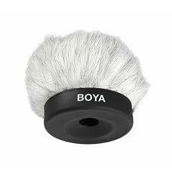 Boya BY-P50 Dead Cat Kitten Fluffy Windshield 50mm zaštita od vjetra za mikrofon BY-VM01, AKG C451 B, C480 B/CK61, 62, 63, SE300 B + capsule, Azden SGM-2X (omni), Beyerdynamic MCE 72, DPA 4006, 4011