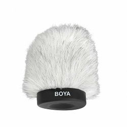Boya BY-P80 Dead Cat Kitten Fluffy Windshield 80mm zaštita od vjetra za mikrofon Shotgun Capacitor Microphones