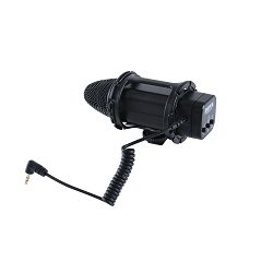 Boya BY-V02 Compact Stereo Video Microphone mikrofon za DSLR Leichtes Stereo Video Mikrofon