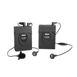 Boya BY-WM5 Lavalier wireless microphone 2.4 GHz GFSK Drahtloses Moderator Mikrofon