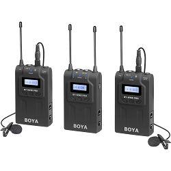 Boya UHF Dual Lavalier Microphone Wireless BY-WM8 Pro-K2 bežični mikrofon