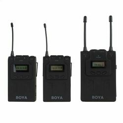Boya UHF Dual Lavalier Microphone Wireless BY-WM8 bežični mikrofon (BY-WM8)