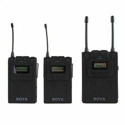 Boya UHF Dual Lavalier Microphone Wireless BY-WM8 bežični mikrofon (BY-WM8)