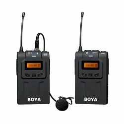 Boya UHF Lavalier Microphone Wireless BY-WM6 bežični mikrofon (BY-WM6)