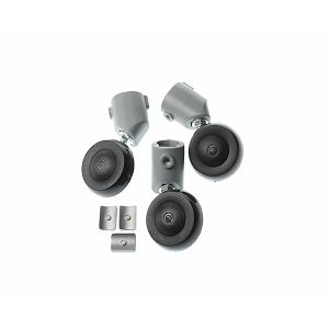 Broncolor casters for Senior and Compuls stand, set of 3 pieces Stands and Suspensions