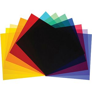 Broncolor colour filters for P70, set of 12 pieces Optical Accessorie