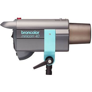 Broncolor Minicom 40 RFS -multi-voltage unit optimized either for 230 V or 120 V Monolight