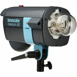 Broncolor Minicom 80 - multi-voltage unit optimized either for 230 V or 120 V Monolight