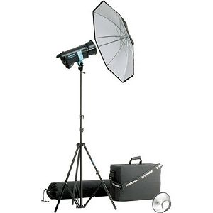 Broncolor Minicom Basic kit RFS * 5500 K  optimized for 230 V or 120 V Monolight
