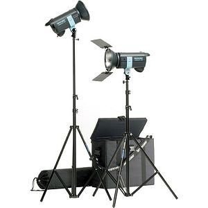 Broncolor Minicom Travel kit 5500 K  optimized for 230 V or 120 V Monolight