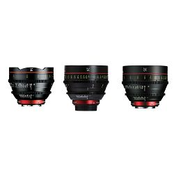 Canon Cine Lens KIT CN-E 14/24/35 Bundle Primes lens set (CN-E 14mm T3.1 L F + CN-E 24mm T1.5 L F + CN-E 35mm T1.5 L F) (9139B013AA)