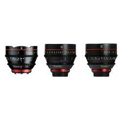 Canon Cine Lens KIT CN-E 14/24/50 Bundle Primes lens set (CN-E 14mm T3.1 L F + CN-E 24mm T1.5 L F + CN-E 50mm T1.3 L F) (8325B009AA)