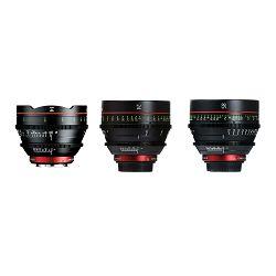 Canon Cine Lens KIT CN-E 14/24/85 Bundle Primes lens set (CN-E 14mm T3.1 L F + CN-E 24mm T1.5 L F + CN-E 85mm L F) (8325B010AA)