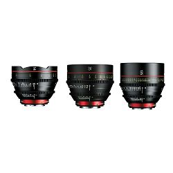Canon Cine Lens KIT CN-E 14/35/135 Bundle Primes lens set (CN-E 14mm T3.1 L F + CN-E 35mm T1.5 L F + CN-E 135mm T2.2 L F) (9139B016AA)