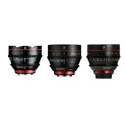 Canon Cine Lens KIT CN-E 14/35/50 Bundle Primes lens set (CN-E 14mm T3.1 L F + CN-E 35mm T1.5 L F + CN-E 50mm T1.3 L F) (9139B014AA)