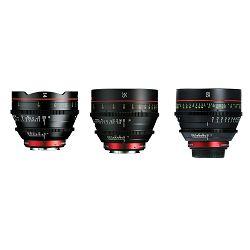 Canon Cine Lens KIT CN-E 14/35/85 Bundle Primes lens set (CN-E 14mm T3.1 L F + CN-E 35mm T1.5 L F + CN-E 85mm L F) (9139B015AA)
