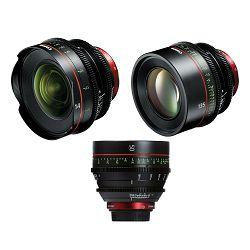 Canon Cine Lens KIT CN-E 14/50/135 Bundle Primes lens set (CN-E 14mm T3.1 L F + CN-E 50mm T1.3 L F + CN-E 135mm T2.2 L F) (8325B013AA)