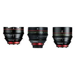 Canon Cine Lens KIT CN-E 14/85/135 Bundle Primes lens set (CN-E 14mm T3.1 L F + CN-E 85mm L F + CN-E 135mm T2.2 L F) (8325B014AA)
