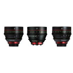 Canon Cine Lens KIT CN-E 24/35/50 Bundle Primes lens set (CN-E 24mm T1.5 L F + CN-E 35mm T1.5 L F + CN-E 50mm T1.3 L F) (9139B017AA)