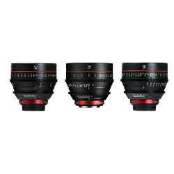 Canon Cine Lens KIT CN-E 24/35/85 Bundle Primes lens set (CN-E 24mm T1.5 L F + CN-E 35mm T1.5 L F + CN-E 85mm L F) (9139B018AA)