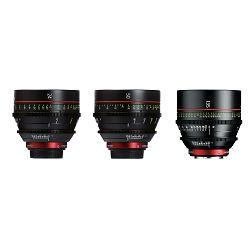 Canon Cine Lens KIT CN-E 24/50/135 Bundle Primes lens set (CN-E 24mm T1.5 L F + CN-E 50mm T1.3 L F + CN-E 135mm T2.2 L F) (8326B006AA)