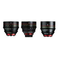 Canon Cine Lens KIT CN-E 35/50/135 Bundle Primes lens set (CN-E 35mm T1.5 L F + CN-E 50mm T1.3 L F + CN-E 135mm T2.2 L F) (9139B021AA)