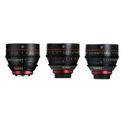 Canon Cine Lens KIT CN-E 35/50/85 Bundle Primes lens set (CN-E 35mm T1.5 L F + CN-E 50mm T1.3 L F + CN-E 85mm L F) (9139B020AA)