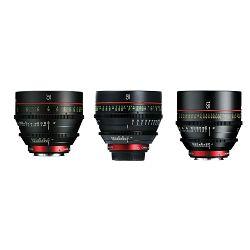 Canon Cine Lens KIT CN-E 35/85/135 Bundle Primes lens set (CN-E 35mm T1.5 L F + CN-E 85mm L F + CN-E 135mm T2.2 L F) (9139B022AA)