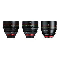 Canon Cine Lens KIT CN-E 50/85/135 Bundle Primes lens set (CN-E 50mm T1.3 L F + CN-E 85mm L F + CN-E 135mm T2.2 L F) (8326B008AA)