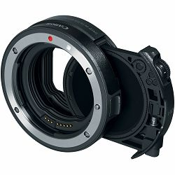 Canon DIF MT Drop-In Filter Mount Adapter EF-EOS R with CPL Circular Polarizer Filter (3442C005AA)