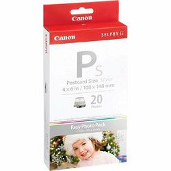 Canon E-P20 S Silver foto papir Easy Photo Pack Postcard size (3.94