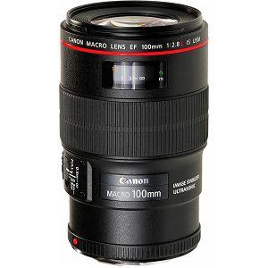 Canon EF 100mm f/2.8 L IS USM Macro telefoto objektiv prime lens 100 f/2.8L 2.8 F2.8 (3554B005AA) - Cash Back