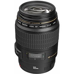 Canon EF 100mm f/2.8 USM Macro telefoto objektiv prime lens 100 2.8 1:2,8 (4657A011AA)
